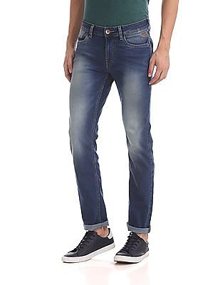 Flying Machine Michael Slim Tapered Fit Mid Rise Jeans