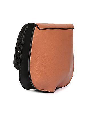 SUGR Tuck Lock Cutwork Sling Bag