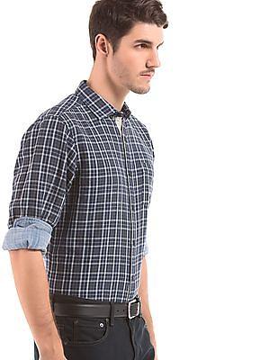 Nautica Regular Fit Plaid Check Shirt