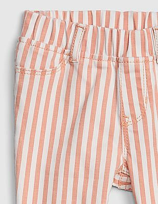GAP Toddler Girl Superdenim Stripe Jeggings With Fantastiflex