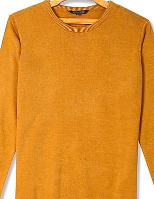 Cherokee Solid Flat Knit Sweater