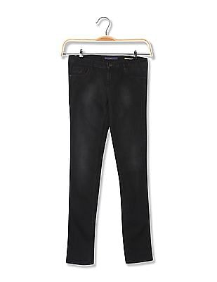 Flying Machine Women Super Skinny Fit Rinsed Jeans