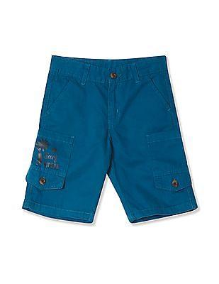 Cherokee Boys 3/4Th Cargo Shorts