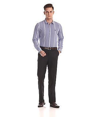 USPA Tailored Slim Fit Check Shirt