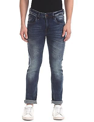 Flying Machine Slim Tapered Stone Washed Jeans