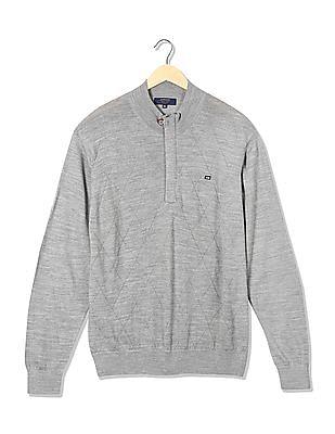 Arrow Sports Merino Wool Blend Sweater