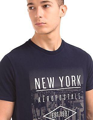 Aeropostale Regular Fit Printed T-Shirt