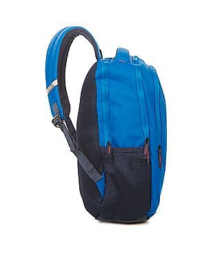 Flying Machine Textured Padded Laptop Backpack