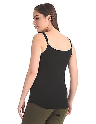 Unlimited Solid Cotton Stretch Camisole