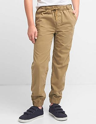 GAP Boys Canvas Joggers