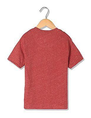 U.S. Polo Assn. Kids Boys Slubbed Short Sleeve T-Shirt