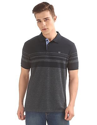 Ruggers Striped Regular Fit Polo Shirt
