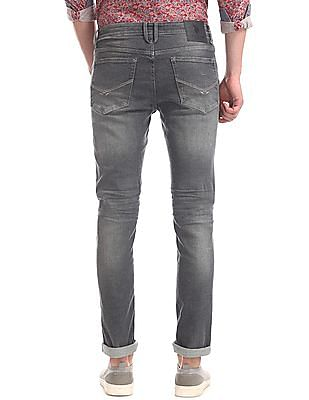 U.S. Polo Assn. Denim Co. Grey Regallo Skinny Fit Washed Jeans