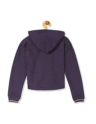 Cherokee Girls Zip Up Hooded Sweatshirt