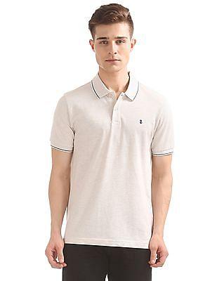 Izod Heathered Regular Fit Polo Shirt