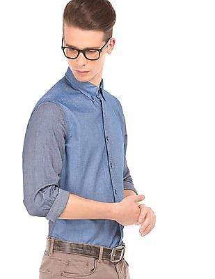 Nautica Oxford Weave Cotton Shirt