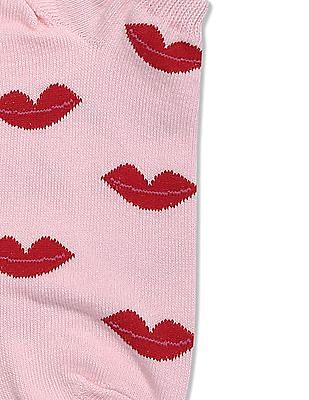 Aeropostale Patterned Ankle Length Socks - Pack Of 3