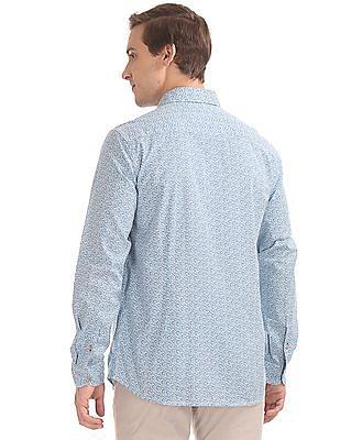 U.S. Polo Assn. Denim Co. Button Down Collar Slim Fit Shirt