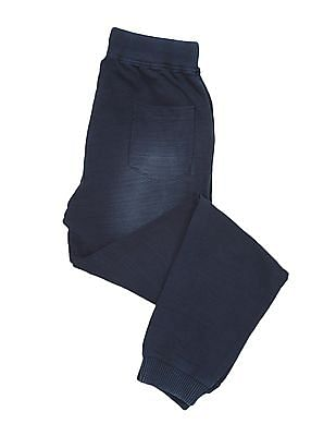 Cherokee Boys Washed Cotton Joggers