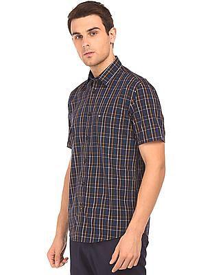 Arrow Sports Regular Fit Check Shirt