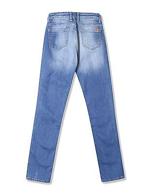 Flying Machine Women Skinny Fit Low Rise Jeans