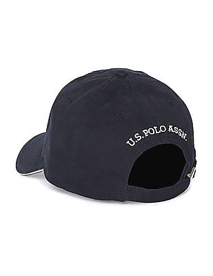 U.S. Polo Assn. Contrast Embroidery Panelled Cap