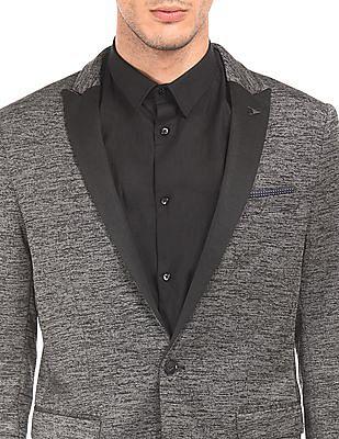 Arrow Newyork Single Breasted Linen Blazer