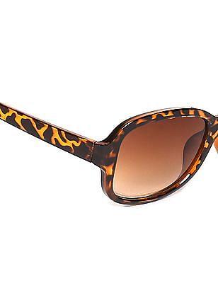 SUGR Tortoise Shell Frame Gradient Sunglasses