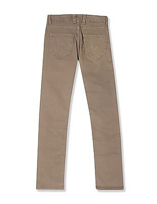 Flying Machine Michael Slim Tapered Fit Mid Waist Jeans