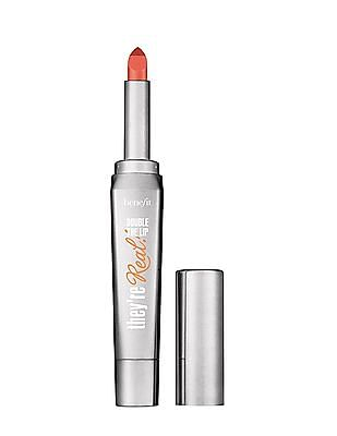Benefit Cosmetics They're Real Double The Lip - Lip Stick And Liner In One - Criminally Coral