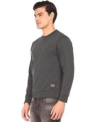 Flying Machine Long Sleeve Slim Fit Sweatshirt