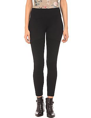 EdHardy Women Tucked Detail Knit Pants