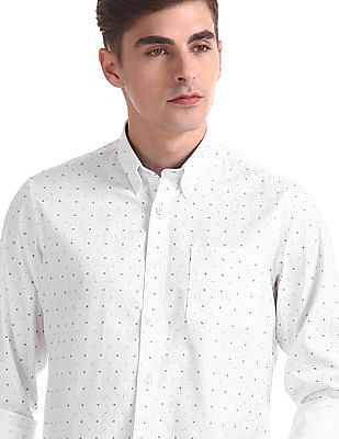 Arrow Sports Slim Fit Long Sleeve Shirt