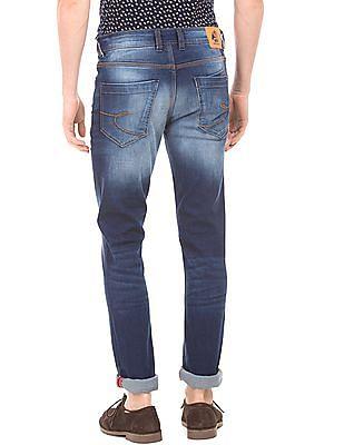 Izod Distressed Slim Fit Jeans