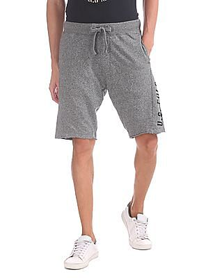 U.S. Polo Assn. Denim Co. Regular Fit Heathered Shorts