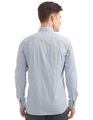 Nautica Long Sleeve Bangla Stripe Shirt