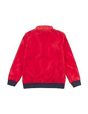 U.S. Polo Assn. Kids Boys Reversible Bomber Jacket