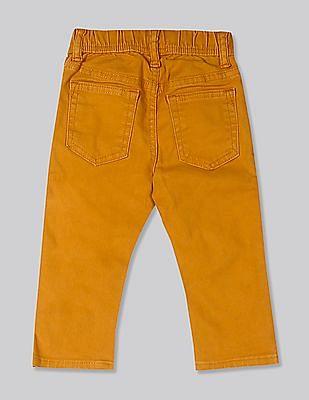 GAP Yellow Toddler Boy Slim Jeans With Fantastiflex