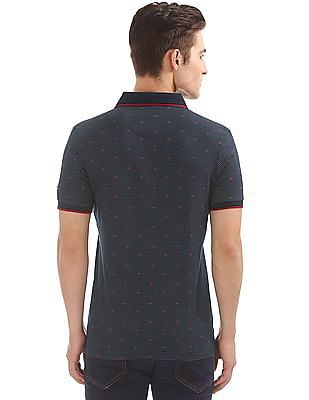 Arrow Sports Printed Regular Fit Polo Shirt