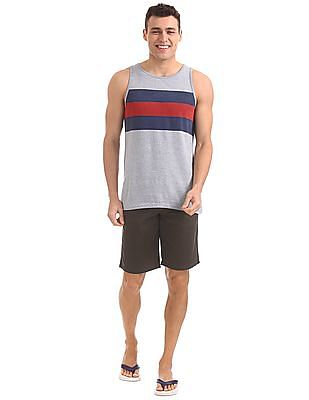 Bayisland Standard Fit Printed Chino Shorts
