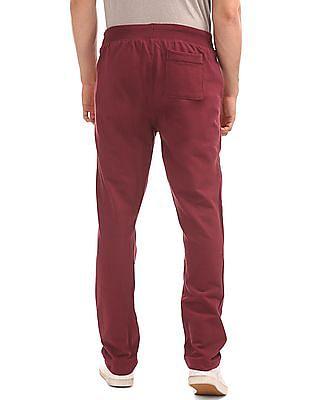 Aeropostale Appliqued Knit Track Pants