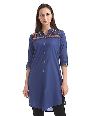Karigari Regular Fit Printed Kurta