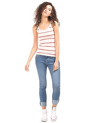 Nautica Low Rise Stone Washed Jeans