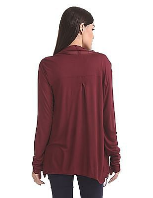 Cherokee Waterfall Front Long Sleeve Shrug
