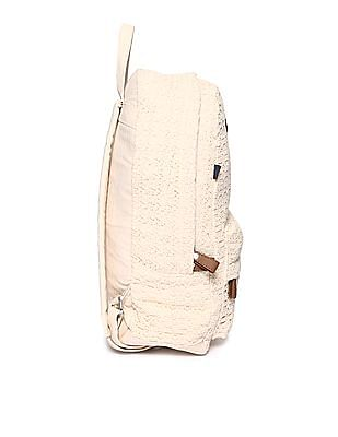 SUGR Patterned Weave Cotton Backpack