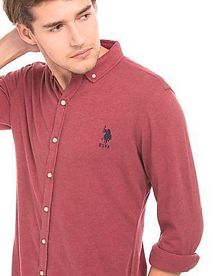 U.S. Polo Assn. Slim Fit Knit Shirt