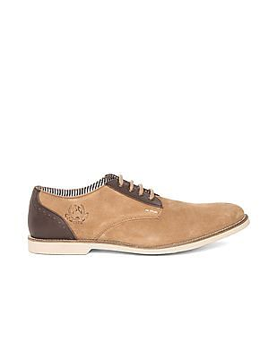 U.S. Polo Assn. Denim Co. Suede Leather Derby Shoes