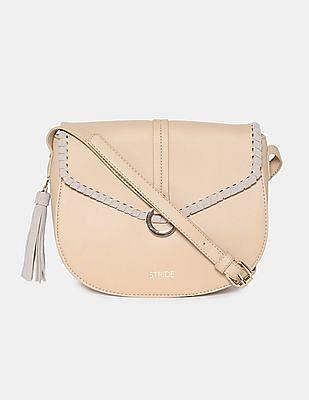 Stride Tassel Trim Sling Bag