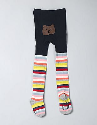 96ed940e8affa Buy Baby Baby Crazy Stripe Sweater Tights online at NNNOW.com