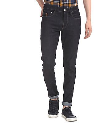U.S. Polo Assn. Denim Co. Blue Brandon Slim Fit Rinsed Jeans